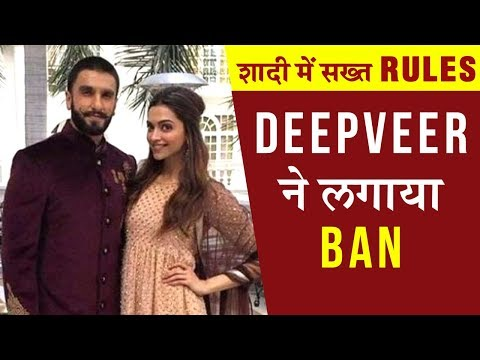 Ranveer Singh - Deepika Padukone Set STRICT RULES