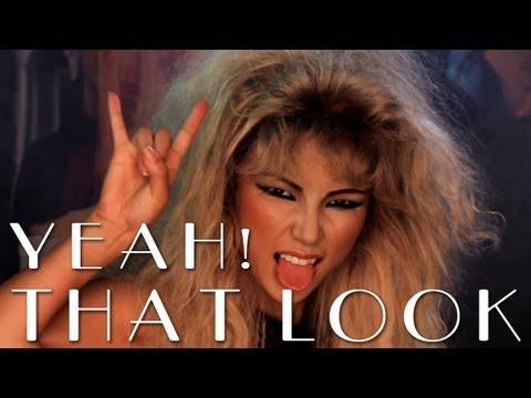 80s Inspired Rock Makeup