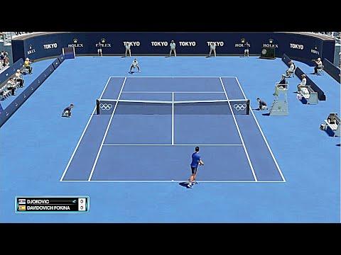 Novak Djokovic vs Alejandro Davidovich Fokina | Tokyo Olympics 2021 | Full Match Highlights