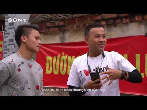 Cùng Sony thử thách tài tâng bóng cùng cầu thủ U23 Nguyễn Quang Hải - Thời lượng: 5:41.