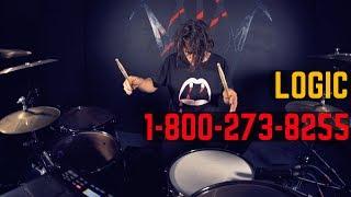 Download Lagu Logic - 1-800-273-8255 ft. Alessia Cara, Khalid | Matt McGuire Drum Cover Mp3