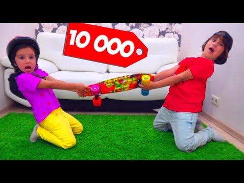 Что КУПИТ ШКОЛЬНИК на 10000 рублей Дети ТРАТЯТ ДЕНЬГИ! Для Детей kids children