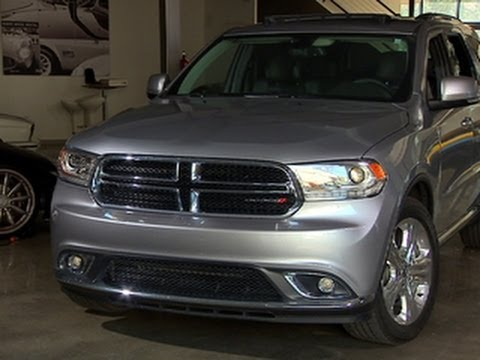 durango - http://cnet.co/1cWPEFR Although not particularly economical, in styling and connected tech the 2014 Dodge Durango shows what the future holds for SUVs.