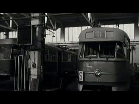Električky v opravovni (1969)