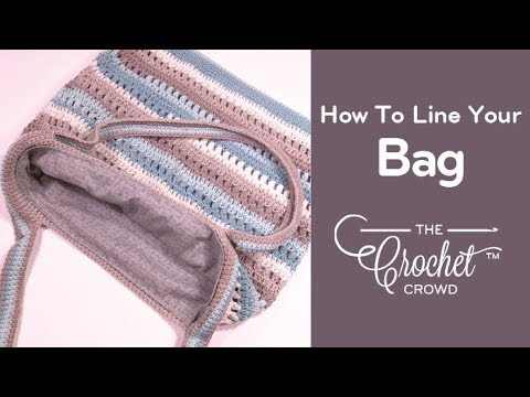 Line A Crochet Or Knit Bag For Beginners