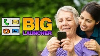 BIG Launcher Easy Phone DEMO YouTube video
