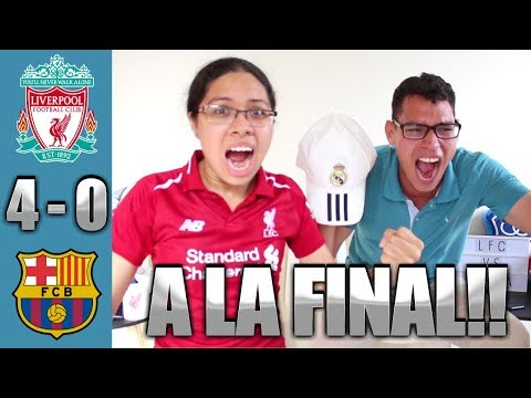Reacción Liverpool vs Barcelona 4-0 (07/05/19) Semifinal Champions League 2019