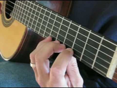 Beginning Classical Guitar Exercise 1