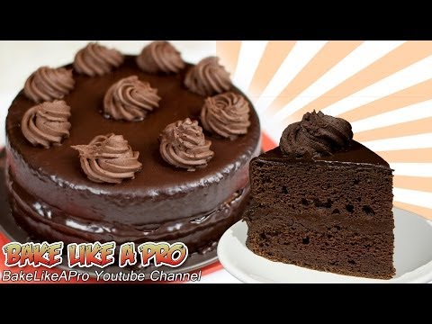 Chocolate Mousse Cake Recipe ! – Ultimate Chocolate Cake Recipe !