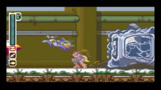 9. Rockman Zero Collection : (Z1) The Base is Being Attacked Boss:GIANT MECHALOID HEAD [Easy mod]