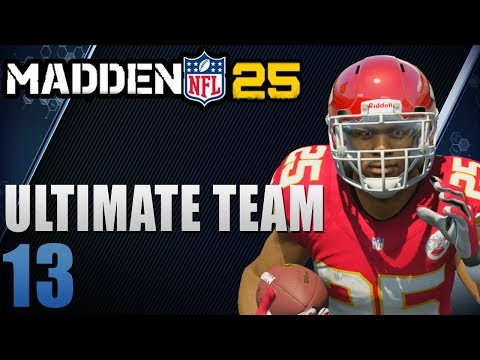 Madden 25 Ultimate Team Next-Gen : The Return of EJ Manuel Ep.13 (видео)