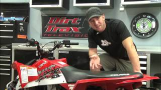 7. Dirt Trax 2009 Polaris Outlaw 450 MXR Test Ride