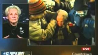Olbermann Interviews Dorli Rainey 84 Year Old Pepper Sprayed