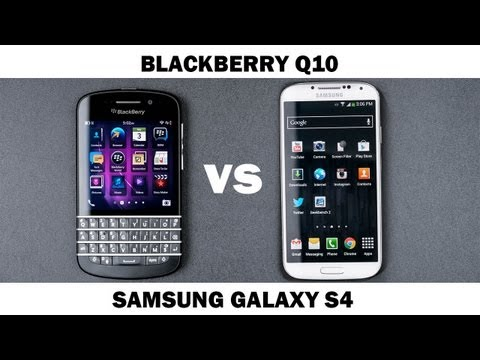 blackberry - In this video we compare the Blackberry Q10 with the Samsung Galaxy S4. They are both good phones that are meant for different things. This comparison is for...