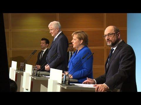 """Einigung bei der Sondierung: Spitze sagt """"Ja"""" zu Koalit ..."""