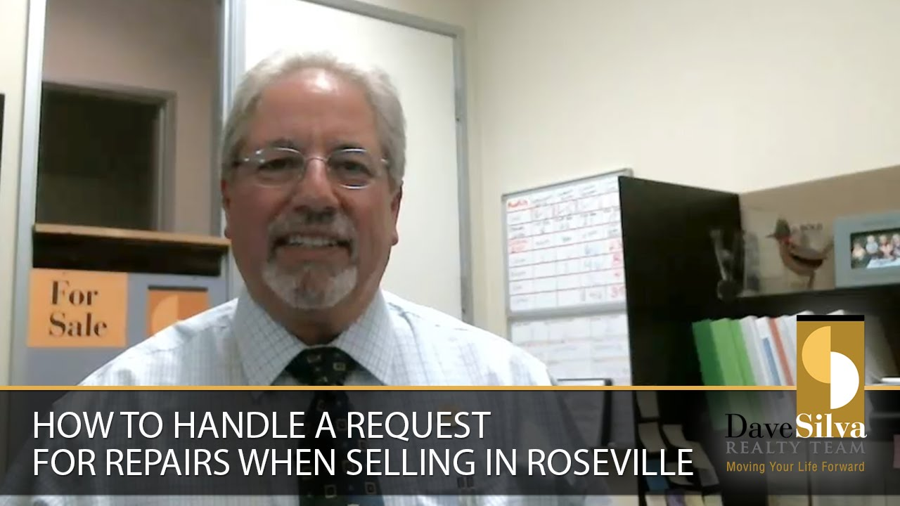 How to Handle a Request for Repairs When Selling in Roseville
