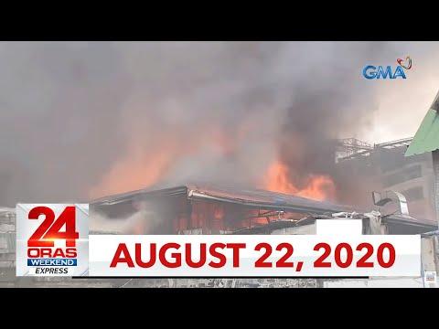 24 Oras Weekend Express: August 22, 2020 [HD]