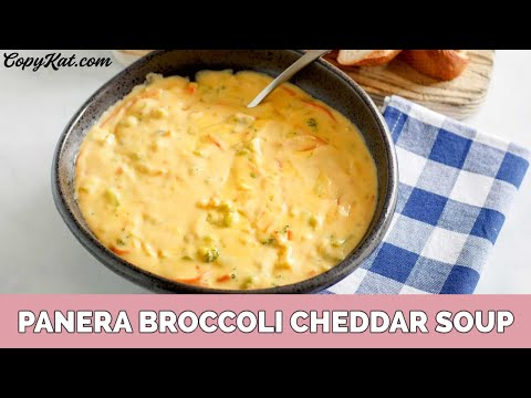 Panera's Broccoli Cheese Soup