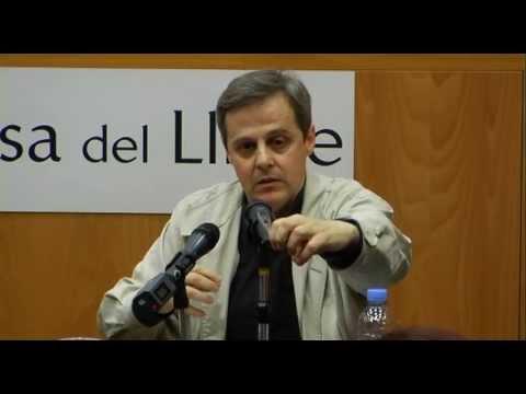 Xavier Melloni, Josep Rius-Camps i Abdelmumín Aya presentaren 'El arameo en sus labios' a Barcelona