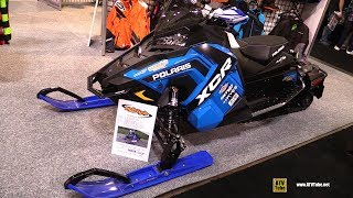 8. 2018 Polaris 800 XCR Accessorized Sled - Walkaround - 2017 Toronto Snowmobile ATV Show