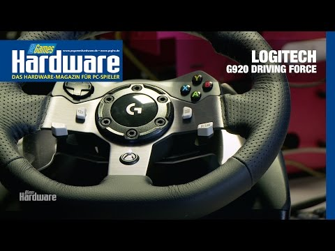 Logitech G920 Driving Force Review / Test