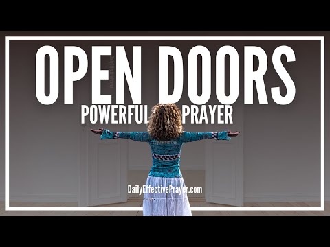 Prayer For Open Doors - Prayer For New Beginnings Fresh Start
