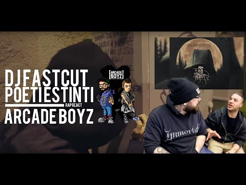 REACTION • DJ FASTCUT - POETI ESTINTI ft. DANNO, RANCORE , Rknss M. & M. Hdz | FADA & BARLOW