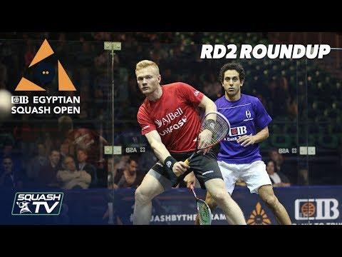 Squash: CIB Egyptian Squash Open 2019 - Rd 2 Roundup