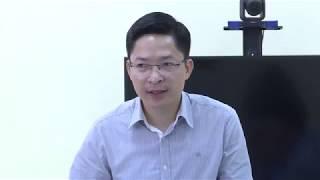 Phó Bí thư Huyện ủy Phạm Lê Hưng làm việc với Đảng ủy xã Thống Nhất