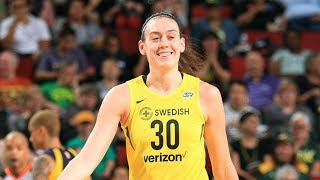 Breanna Stewart (22 PTS) Helps Storm Secure No. 1 Seed by WNBA