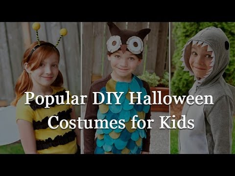 Top 10 DIY Halloween Costumes for Kids 2014