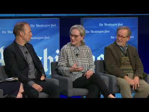 Meryl Streep calls her first movie with Steven Spielberg a 'collaborative, free, open' experience
