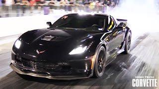 1100hp Z06 Corvette - CRAZY Fast!!! by High Tech Corvette