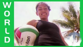 Volleyball in the Marshall Islands on Trans World Sport Subscribe to Trans World Sport: http://goo.gl/5kBsQ TWS features sports action from around the globe, ...