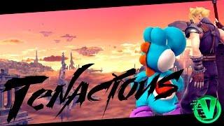 【SSB4】Tenacious – A Yoshi & Cloud Combo/Highlight Video Feat. VLC | BlaiseAgain