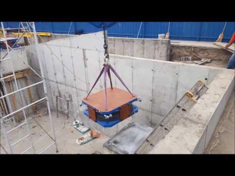 Aislador Triple Péndulo - Uplift
