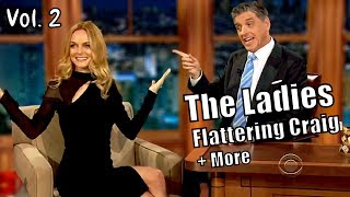 The Ladies Complimenting & Flattering Craig Ferguson - Fresh New Compilation 2017 #2