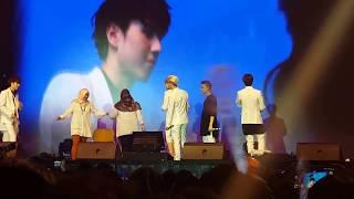 Video GOT7 in JKT - LUCKY FANS on stage MP3, 3GP, MP4, WEBM, AVI, FLV Desember 2017