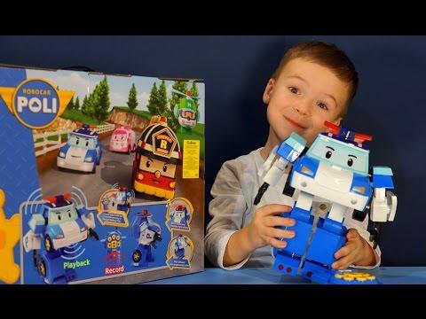 """Робот-трансформер Poli """"Поли трансформер на радиоуправлении"""" (20 см)"""