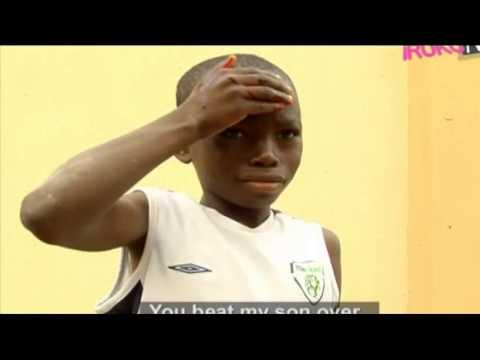 Bimbo Oshin Beats Up Her Maid - Nigerian Yoruba Movie