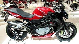7. 2014 MV Agusta Brutale 1090R Walkaround - 2013 EICMA Milan Motorcycle Exibition