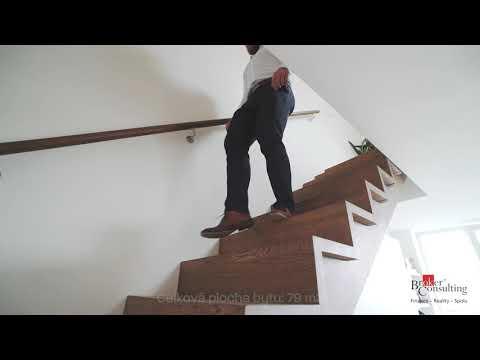 Video Pronájem nádherného mezonetového 3kk bytu,  s vlastní saunou