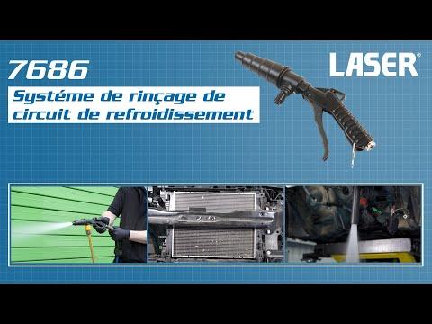 7686 – Système de rinçage de circuit de refroidissement - Laser Tools