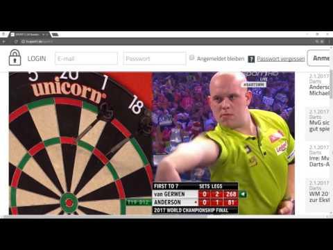 Dart: WM 2017 - Anderson vs. Van Gerwen (FINALE)