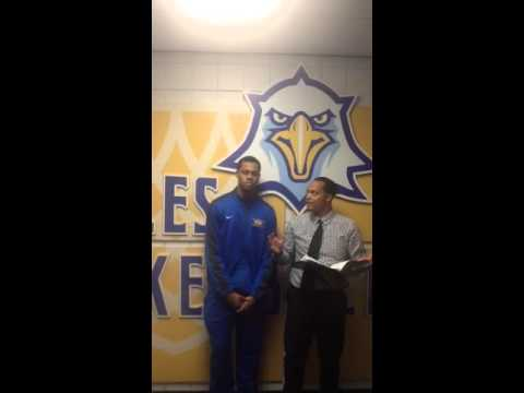 #TCCBasketball vs. Pensacola State: Postgame with Ryan Johnson