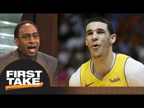 Stephen A. openly confesses why he's getting annoyed talking about Lonzo Ball | First Take | ESPN