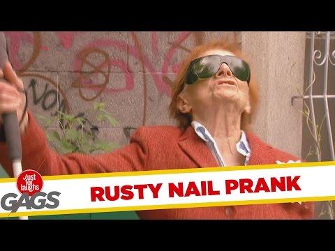Big Rusty Nail Prank
