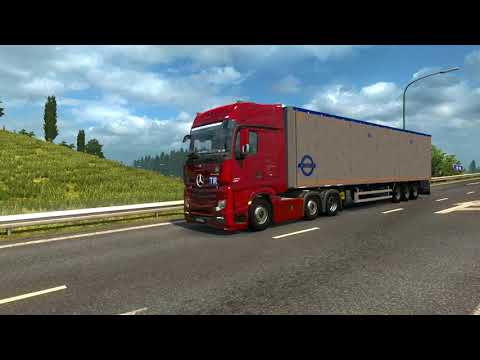 Mercedes Benz Actros 2016i Sound adapted to Actros SCS v1.0