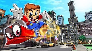 Minecraft   PORTAL TO THE SUPER MARIO ODYSSEY! (Super Mario Mod)
