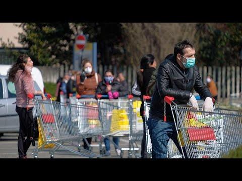 Ιταλία-COVID-19: Νέα περιοριστικά μέτρα για να μπει φρένο στην πανδημία…